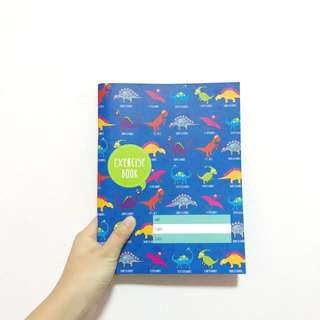 The Paper Stone Exercise Book [DINOSAUR]