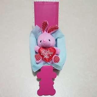 Valentine Rabbit in box