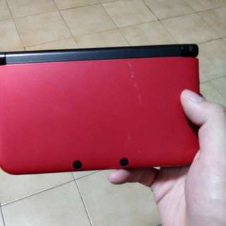 3ds XL red