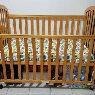 Baby Cot with Side Rail