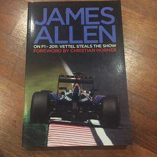 Autographed Edition - James Allen on F1 2011