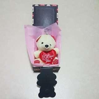 Valentine Beige Bear in box