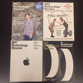 MIT Technology Review back issues
