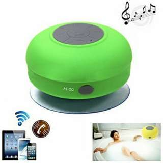 Pixnor BTS-06 Mini Waterproof Hands-free Bluetooth Speaker with MIC Suction Cup for iPhone /iPad /Cellphones (Green)
