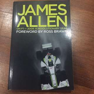 Autographed Edition - James Allen on F1 - 2009