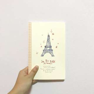 Eiffel Tower Notebook from Artbox