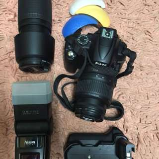 Nikon D5000 Full package