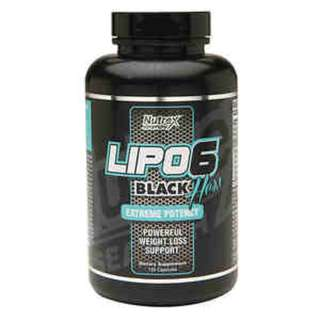 NUTREX LIPO 6 BLACK HERS 120 CAPS - COD FREE SHIPPING