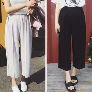Summer chiffon wide leg pants