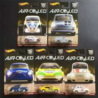 Hot Wheels Air Cooled 1 Set