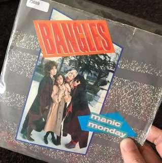 "1985 Bangles - Manic Monday ( 7"" Vinyl Record )"