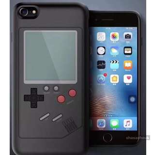 Gameboy iPhone Case 懷舊遊戲機手機殼 - 黑色