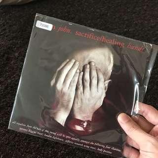 """1989 Elton John - Sacrifice (7"""" Vinyl Record )"""