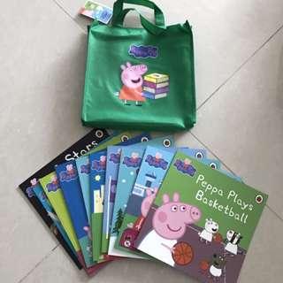Peppa pig books set