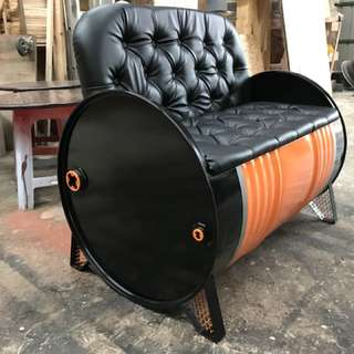 Tong drum sofa