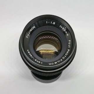 Fujinon 55mm 1.8 - M42 Sony Fuji