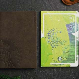 Starbucks 2018 Planner (Green Version, Large Size)