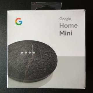 Google Home Mini - Charcoal Colour