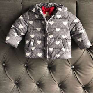 Preloved Baby Gap 18-24M Winter Jacket for Baby Girl