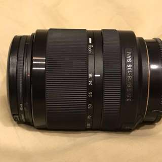 Sony a55 &DT 18-135 MM F3.5-6.5 SAM Amount & DT 16-50MM F2.8