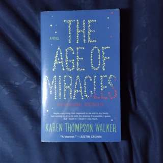 The Age of Miracles by Walker
