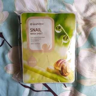 SeaNtree Snail Mask