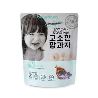 Bebedang Organic Brown Rice Pop - Black Rice / Baby snack / Baby food