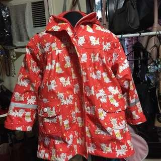 Cat Rain Coat