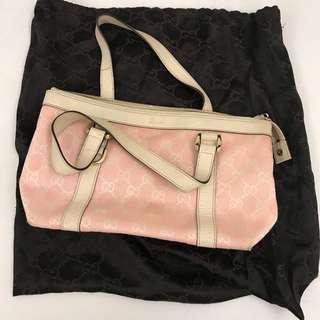 粉紅色Gucci 小手袋