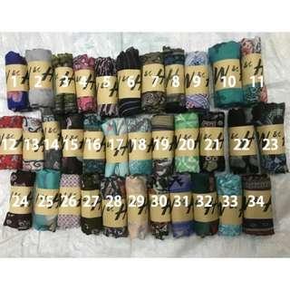 H&M Fashion scarf printed design