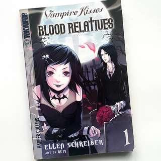 Vampire Kisses Blood Relatives Vol. 1