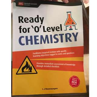 Ready for O Level Chemistry