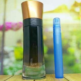 Decant Parfum Armani Code Profumo 10ml