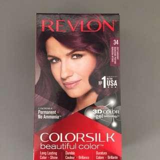Revlon Colorsilk Hair Colour 34 Deep Burgundy