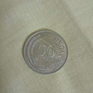 Singapore Old Coins 1967
