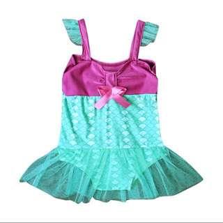 Baby Girl Fish Scales Mermaid Summer Beach wear Swim wear Swim Suit Beach Wear with Tulle