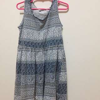 H&M dress ori USA girls blue