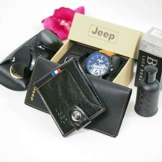 Set 6 in 1 men set gift jeep set