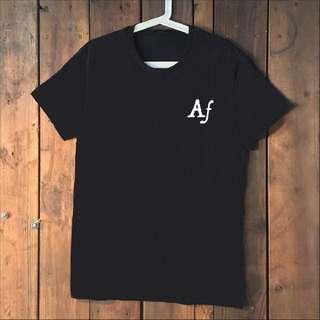 Af black tee shirt T shirt T-shirt
