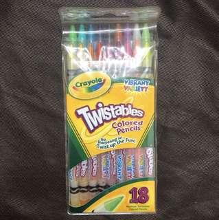Crayola Twistables Colored Pencils (18 Colors)
