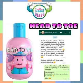 Head to Toe Cleanser by Bella Boo (Latest Product)