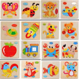 Wooden Block Puzzle Educational Toy