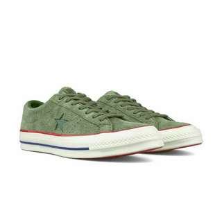 UNDEFEATED X CONVERSE ONE STAR OX SUEDE OLIVE