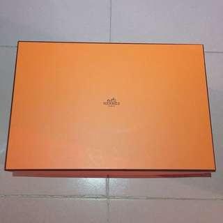 名牌愛馬仕紙盒 hermes luxury box