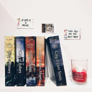 Mortal Instruments Series (book 1-5)
