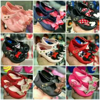 BABYGIRLS JELLY FLATS