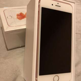 Rose Gold near new IPhone 6S 64gb
