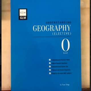 GLM Understanding geography elective o level