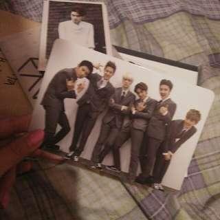 Exo K Official Growl Photocard