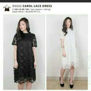 Carol lace dress